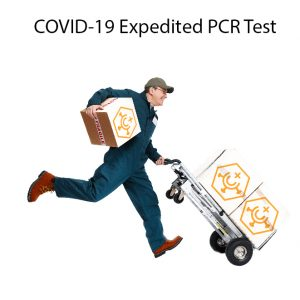 Expedited COVID-19 PCR Test Same Day Results